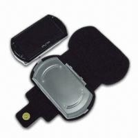 Wholesale High-quality Leatherette Carrying Bag with Stand, Suitable for PSP Go Console from china suppliers