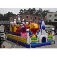 Outside / Indoor Inflatable Amusement Park Commercial Funcity Game Toys For Kids Playing