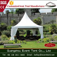 Wholesale Cone Shaped High Peak Pagoda Marquee Tents , Outdoor Wedding Tent 5m * 5m from china suppliers