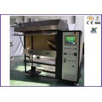 Buy cheap Black Heat Insulation Flammability Test For Plastics  Flame Spread Characteristic Tester from wholesalers