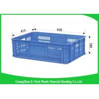 Wholesale Standard Sizestackable Plastic Storage Bins , Mini Load Plastic Shipping Crates from china suppliers