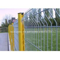 Wholesale Modern Pvc Coated Welded Wire Mesh Panels For Courtyard / Sports Field from china suppliers