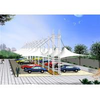 Wholesale Luxury High Peak Car Shade Canopy , Custom Outdoor Canopy For Business Building from china suppliers