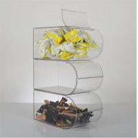 Wholesale custom acrylic clear plastic candy box from china suppliers