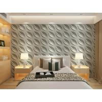 Wholesale Contemporary Interior 3D Textured Wall Panels Home or Commercial Decoration Wallpaper from china suppliers