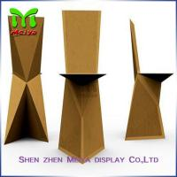 Wholesale Natural / Brown , Retro Recycled Cardboard Furniture chairs For Subway & Bus Station from china suppliers