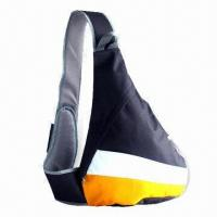 Wholesale Triangle Sling Backpack, Made of 600D x 300D Polyester Material, Various Designs are Available from china suppliers