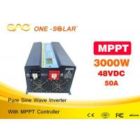 Wholesale Auto Switch Ac To Dc Off Grid Solar Inverter 3000w With Automatic Protect from china suppliers