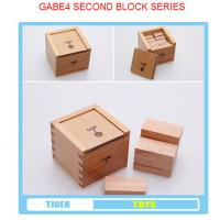 Wholesale pre school professional froebel gifts wooden educational toys froebel GABE 4 from china suppliers