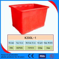 Wholesale 2013 High Quality Plastic Turnover Box /Crate from china suppliers
