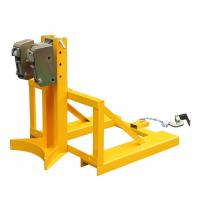 Wholesale 360Kg Forklift Drum Lifter with Double Grippers , drum handling equipment from china suppliers