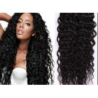 Wholesale Full Lace Black Indian Curly Human Hair Wigs 30 Inch Body Wave human hair from china suppliers