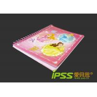 Buy cheap Cartoon Cardboard Notebooks with Princess , 80 Sheet 80gsm from wholesalers