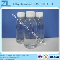 Buy cheap Industry Grade Ethylbenzene CAS 100-41-4 Fine Chemical Used For Styrene Production from wholesalers