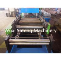 High Strength Highway Guardrail Roll Forming Machine Big Touch Screen Included