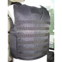 Wholesale S, M, L, XL, XXL  Molle Webbing Tactical Level NIJ II, IIIA Military Bulletproof Vest from china suppliers