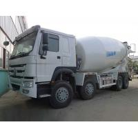 Wholesale Sinotruk Howo 8X4 Concrete Mixer Machine 12 CBM Capacity White Color from china suppliers