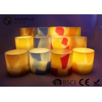 Remote Control Flameless Candles Led , Flameless Scented Candles No Dripping