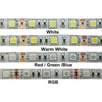 Wholesale 24W 12v RGB 5050 SMD LED Strip Lights IP68 Waterproof Outdoor LED Lighting from china suppliers