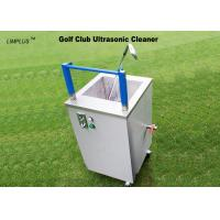Wholesale 49L Ultrasonic Golf Ball Cleaning Machine , 40kHz Sonic Wave Ultrasonic Cleaner Easy Move And Stop from china suppliers