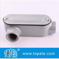 Wholesale 1 Inch Aluminum LR Type IP65 Threaded EMT / Rigid Conduit Body With Cover from china suppliers