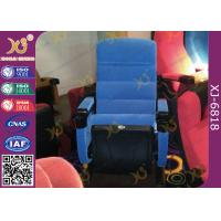 Wholesale Plastic Shell Floor Mounted Folding Theater Seats For Music Hall , Home Cinema Chairs from china suppliers