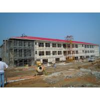 Wholesale H Column Green Painting Steel Frame Structures Prefabricated Workshop Building from china suppliers