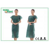 Wholesale Nonwoven Hospital Isolation Gowns / PP Nursing Hospital Gown For Women , CE Standard from china suppliers