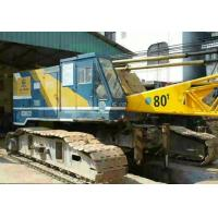 Wholesale 80T crawler crane  kobelco Fully Hydraulic Crawler Crane from china suppliers