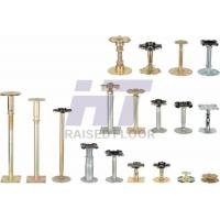 Wholesale Steel Adjustable Raised Floor Pedestal Golden Tube Type European Style from china suppliers