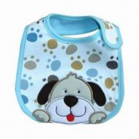 Wholesale Waterproof Baby Bib with Strong Water Absorb Ability Capacity, Available in Various Colors from china suppliers