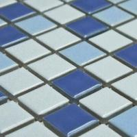 Wholesale Ceramic Mosaic, Measures 18.5 x 18.5mm, Glaze Finish, Single Color/Mix Colors/Designs are Available from china suppliers