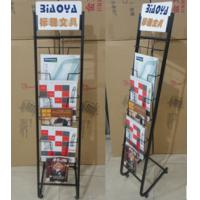 Wholesale Blasting Newspaper Metal Magazine Rack / Shelf Book Display Stand DX-K131 from china suppliers
