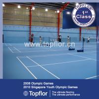 Anti-slip waterproof Indoor PVC Sports Flooring for Badminton court