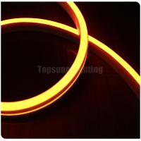 Buy cheap 24V yellow color smd2835 flex led neon rope strip neon-flex lightings flat 11x19mm slim size from wholesalers