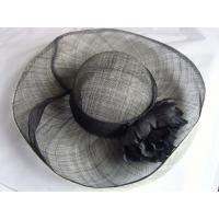 Wholesale sinamay hat lady black FTC13-28 from china suppliers