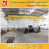 Wholesale 5-50t customizable load double girder euro style overhead traveling crane from china suppliers