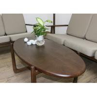 Wholesale European Luxury Furniture Wooden Coffee Round oval Tea End Table for Living Room from china suppliers