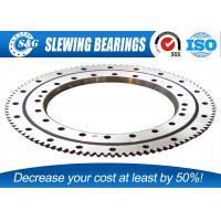 Wholesale Light Weight Rotary Table Bearing , Swing Bearing For Excavator from china suppliers