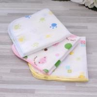 Wholesale Quick Dry Organic Bamboo Washcloths , Pure Muslin Face Cloths Various Colors from china suppliers