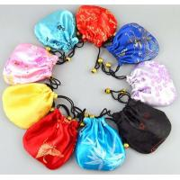 Wholesale satin drawstring gift pouch bag from china suppliers