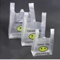Wholesale Multi Colored Clear Plastic Shopping Bags 100% Compostable With SGS from china suppliers