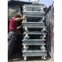 Wholesale Low carbon Steel metal cages , Loading capacity 1000 - 3000kg from china suppliers