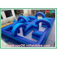 Wholesale Amusement Park Inflatable Playground 750w Blower 0.5mm PVC Eco-friendly from china suppliers