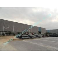 Wholesale 75 X 95 Multispan Prefab ASTM Industrial Steel Buildings , Fireproof Painting Storage House from china suppliers