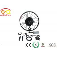 Buy cheap 36V / 48V 500W Brushless Gearless Hub Motor Kit For Electric Bikes from wholesalers