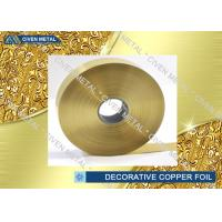 Wholesale ED Copper Embossing Foil For Decorative , PCB Copper Foil for electric springs , switches from china suppliers