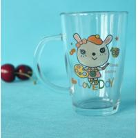 Wholesale Custom made personalization transparent glass drinkware from china suppliers