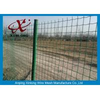 Wholesale Commercial Horizontal Fence Panels , Holland Wire Mesh PVC Coated from china suppliers