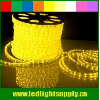 Wholesale 110/220V outdoor decoration 1/2'' 2 wire led rope flex lights from china suppliers